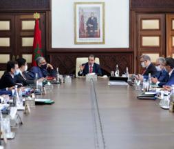conseil gouvernement maroc