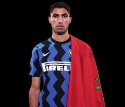 Inter Milan : présentation officielle d'Achraf Hakimi