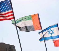 Cérémonie de signature des accords entre Israël, le Bahreïn et les EAU