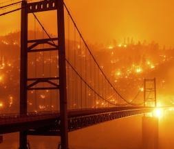 La côte ouest américaine ravagée par les flammes