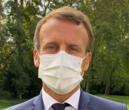 Macron souhaite une bonne rentrée aux élèves