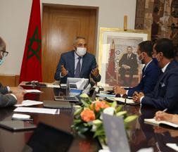 Moulay Hafid Elalamy s'entretient avec les opérateurs du secteur digital