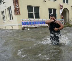 États-Unis : les énormes dégâts de l'ouragan Sally