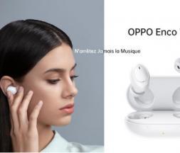OPPO lance Enco W11, ses nouveaux écouteurs sans fil