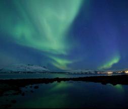 Incroyable vidéo des aurores boréales en Norvège