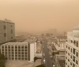 Casablanca vit actuellement sous les vents d'une violente tempête de sable