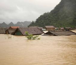 Inondations et glissements de terrain au Vietnam