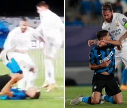 Sergio Ramos s'en prend à Achraf Hakimi