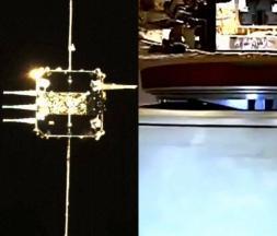 Amarrage en orbite lunaire de Chang'e 5