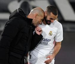 Benzema est le meilleur avant-centre français de l'histoire, selon Zidane