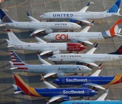 Les Boeing 737 MAX, cloués au sol depuis plus d'un an