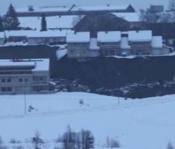 Norvège : dix personnes disparues après un important glissement de terrain
