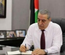 Hussein al-Cheikh, le ministre palestinien des Affaires civiles