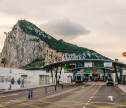 Frontière entre l'Espagne et Gibraltar