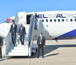 Arrivée à Rabat de l'avion d'El Al