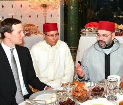 Jared Kushner lors sa première visite au Maroc en mai 2019 © DR