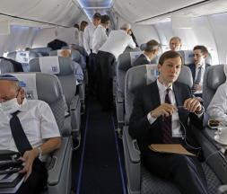 Kushner diffuse une vidéo du vol historique reliant Tel-Aviv à Rabat