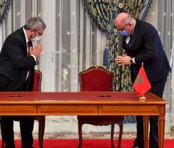 Plusieurs accords ont été signés la semaine dernière entre les deux pays © AFP/Fadel Senna