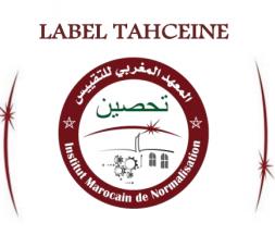 """Le label """"TAHCEINE"""" © DR"""