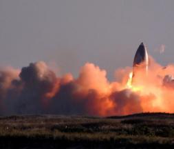 SpaceX : images inédites du vol du prototype SN8 de Starship