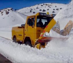 chutes de neige Ifrane