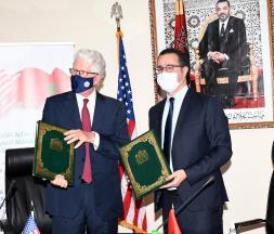 Maroc-USA : signature d'un nouveau MoU