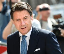 Le Premier ministre italien démissionnaire Giuseppe Conte © DR