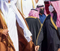 L'émir du Qatar arrive en Arabie saoudite