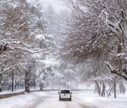 routes enneigées