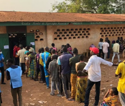 Centrafrique : demande de l'annulation du scrutin