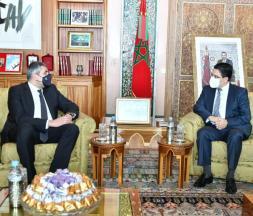 Le ministre des Affaires étrangères, de la Coopération africaine et des Marocains résidant à l'étranger, Nasser Bourita, s'est entretenu, mercredi à Rabat, avec le secrétaire général de l'Organisation mondiale du tourisme (OMT), Zurab Pololikashvili, en visite officielle au Maroc
