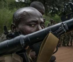 Les forces armées centrafricaines (Faca) © AFP
