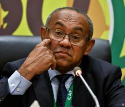 Ahmad Ahmad, l'ex-président de la Confédération africaine de football (CAF) © DR