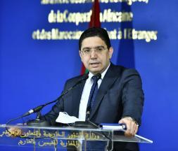 Nasser Bourita, ministre marocain des affaires étrangères © DR