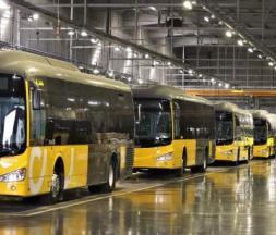 Les nouveaux bus destinés à Casablanca © la MAP
