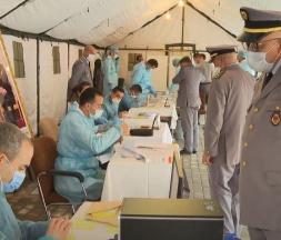 Opération de vaccination des FAR DR