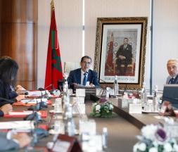 Une précédente réunion de la Commission des investissements