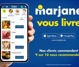 L'application de Marjane © Marjane holding
