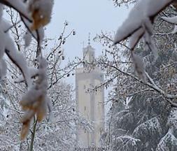 averses orageuses et des chutes de neige