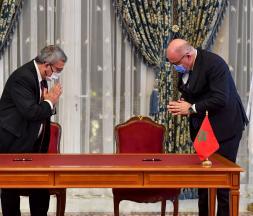 Le rétablissement des relations entre le Maroc et Israël a été acté en décembre dernier 2020 © Fadel Senna/AFP