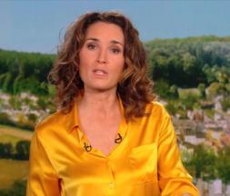 La présentatrice de TF1 Marie-Sophie Lacarrau le jeudi 18 février 2021 © TF1