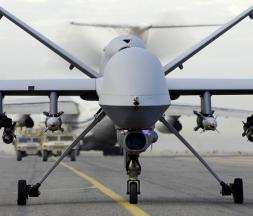 Le MQ9 Reaper, utilisé par l'armée américaine pour des frappes aériennes © Dr