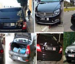Des véhicules d'administrations publiques et de collectivités locales © DR