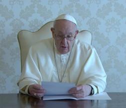 Le pape s'est adressé aux Irakiens, le 4 mars 2021 © Capture d'écran