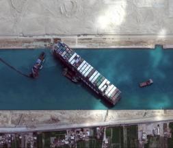 Canal de Suez : le navire Ever Green débloqué à 80%