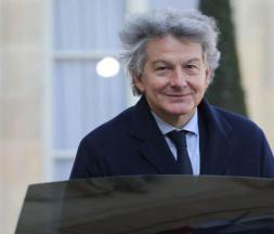 Thierry Breton, commissaire européen au marché intérieur en charge des vaccins