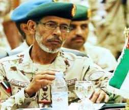 Le Général de Division Hamad Mohammed Thani Al Rumaithi, Chef d'État-Major des Forces armées des Émirats arabes unis