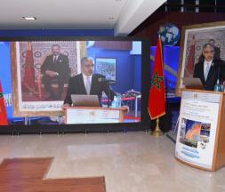 Aziz Rabbah, ministre de l'Énergie, des Mines et de l'Environnement, a présidé, au siège du ministère, la cérémonie de présentation du Plan national de la Géologie 2021-2030 (PNG) © ministère de l'Énergie