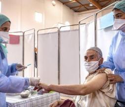 Vaccination contre la Covid-19 à Salé, le 29 janvier 2021 © AFP
