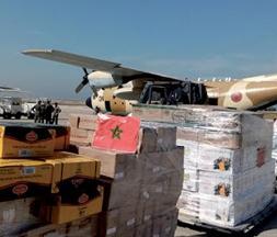 Aides alimentaires royales destinées au peuple libanais